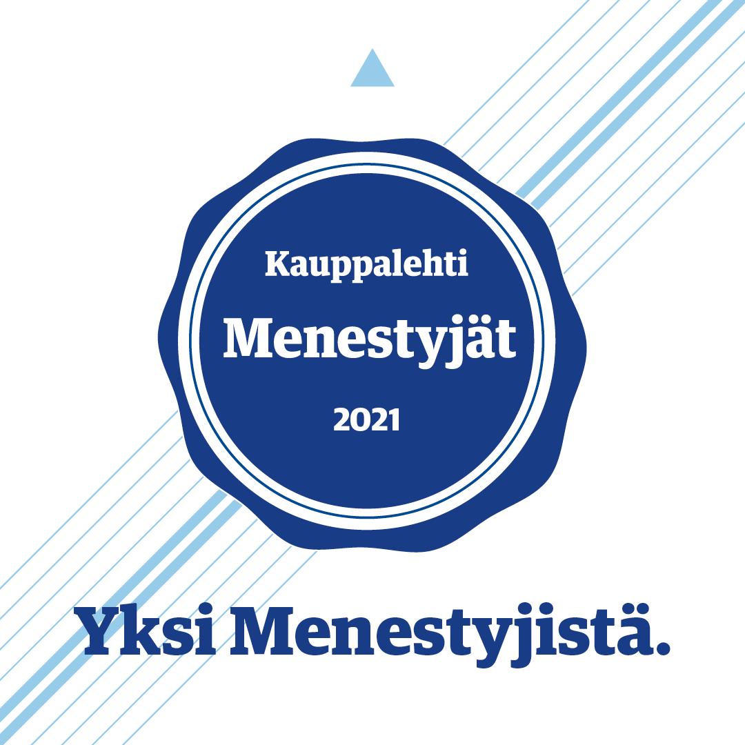 Mailservice on Kauppalehden Menestyjä 2021!